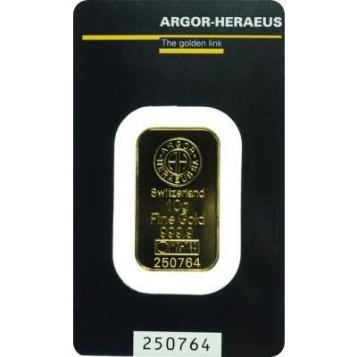 zlatna poluga od 10 grama