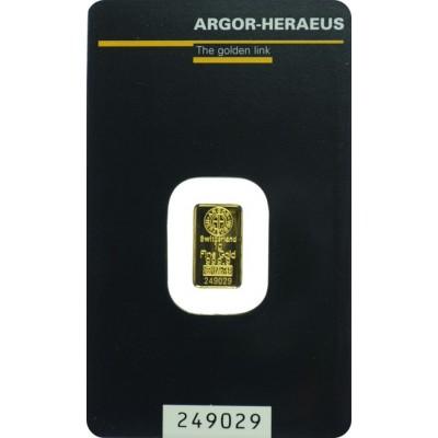 zlatna poluga od 1 gram