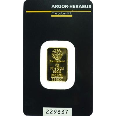 zlatna poluga od 5 grama