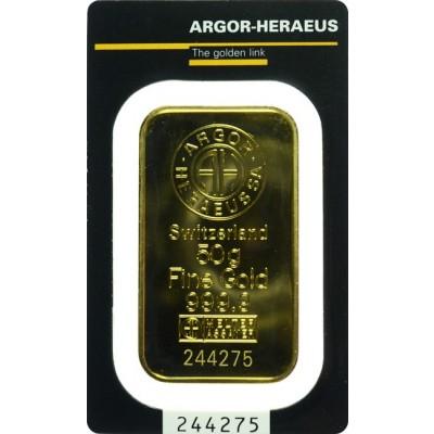 zlatna poluga od 50 grama