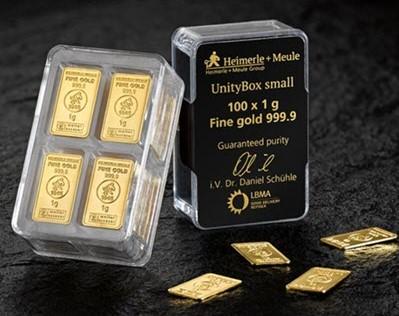 heimerle unity box banka zlata