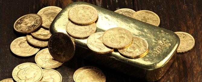 zlato poluga zlatnik slika