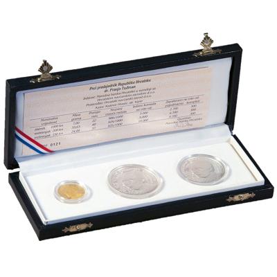 komplet-zlato-srebro-franjo-tudman-1