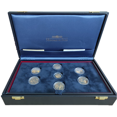france-world-cup-1998-coins-collection